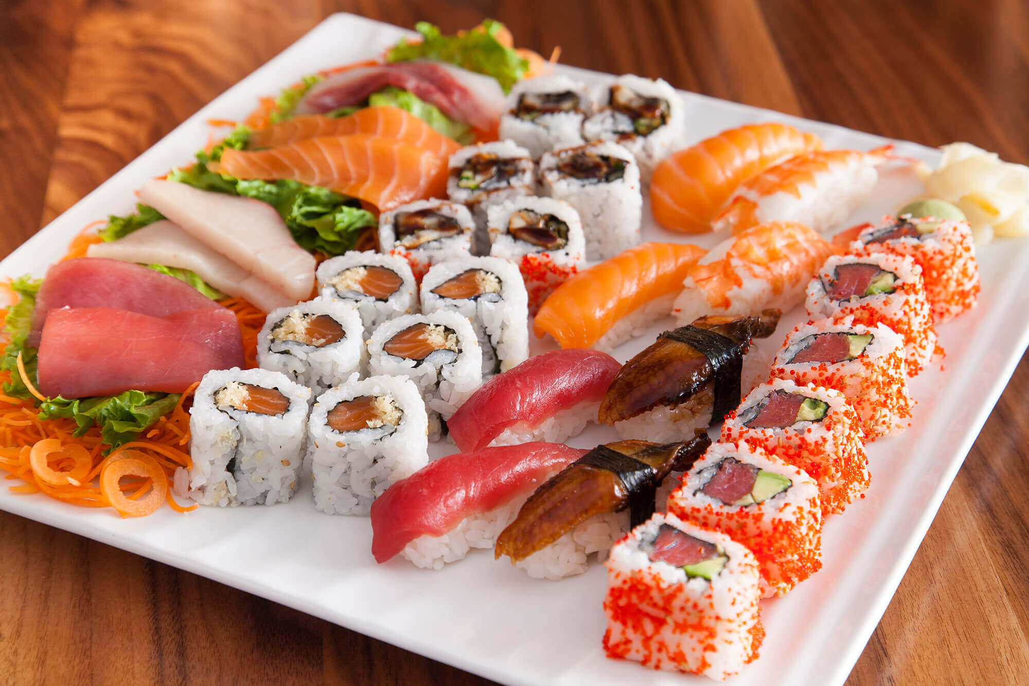 Japanese restaurants in Delhi dishes