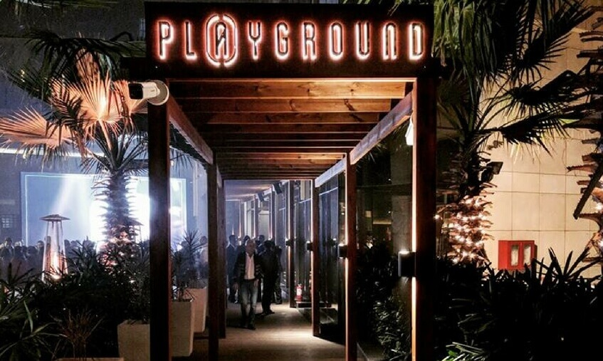 playground club entrance jw marriott delhi laziz